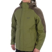 Jack Wolfskin Ice Portage Jacket - Waterproof, Insulated, 3-in-1 (For Men) in Burnt Olive - Closeouts