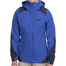Jack Wolfskin Ice Portage Texapore Jacket - Waterproof, Insulated, 3-in-1 (For Women) in Classic Blue - Closeouts