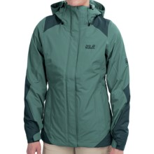 Jack Wolfskin Ice Portage Texapore Jacket - Waterproof, Insulated, 3-in-1 (For Women) in Dark Peppermint - Closeouts