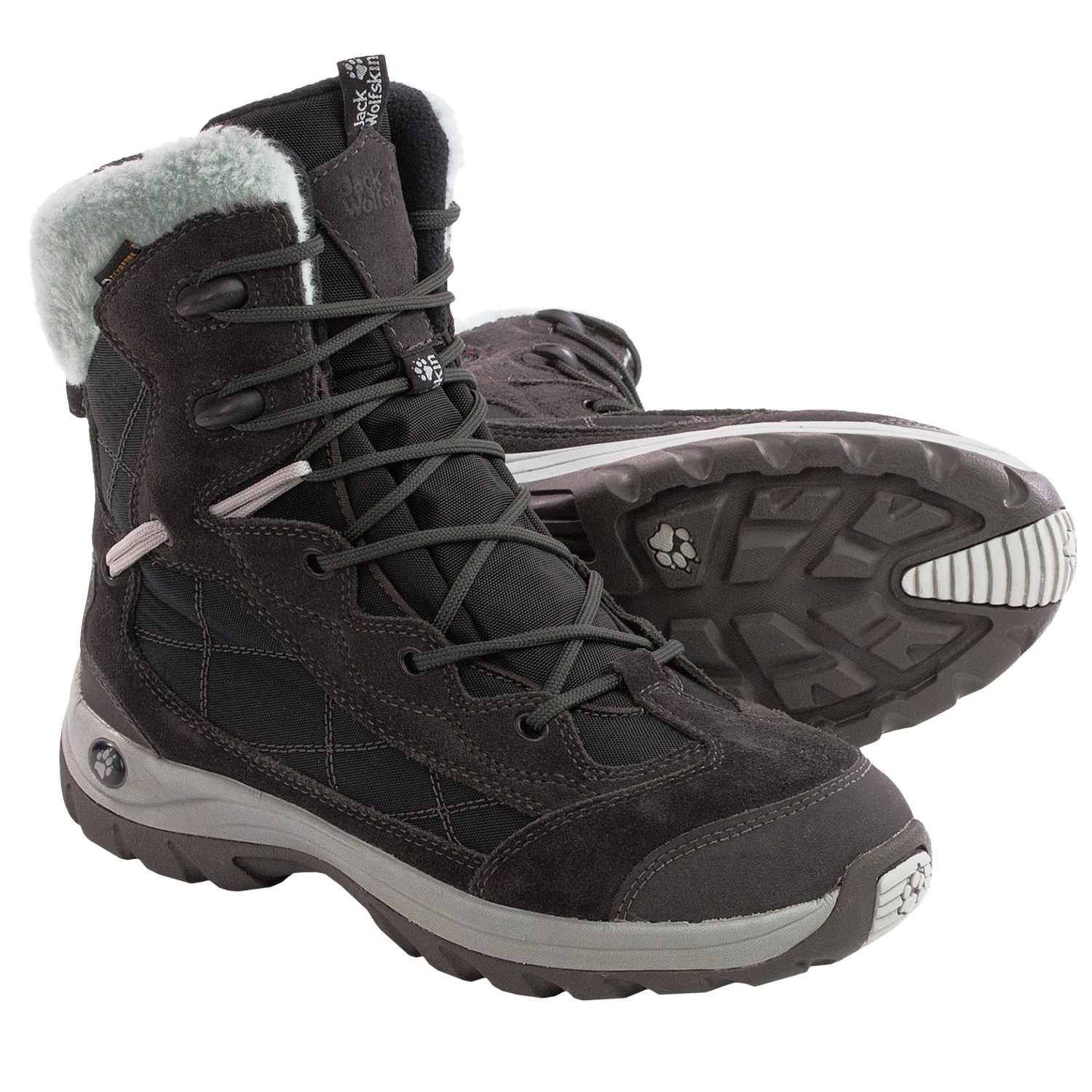 jack wolfskin icy park texapore snow boots for women save 74. Black Bedroom Furniture Sets. Home Design Ideas
