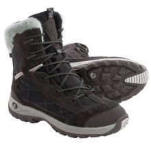 Jack Wolfskin Icy Park Texapore Snow Boots - Waterproof, Insulated (For Women) in Dark Steel - Closeouts