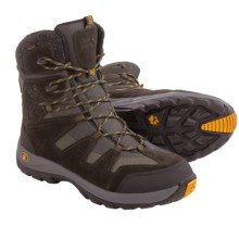 Jack Wolfskin Icy Park Texapore Snow Boots - Waterproof, Insulated, Suede (For Men) in Shadow Black - Closeouts