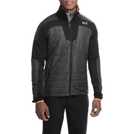 Jack Wolfskin Ionic Microstretch Jacket - Insulated (For Men) in Dark Steel - Closeouts