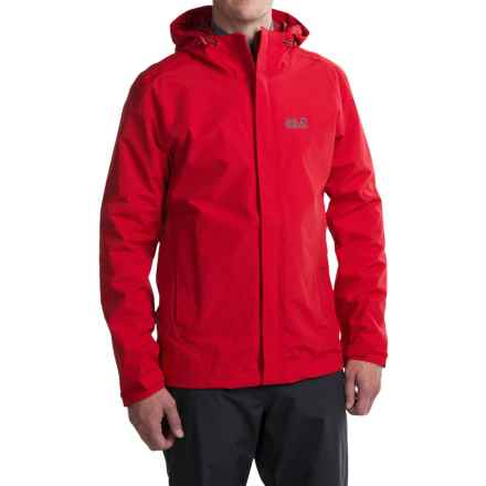 Jack Wolfskin Laconic Texapore Jacket - Waterproof (For Men) in Red Fire - Closeouts