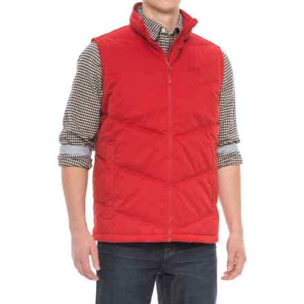 Jack Wolfskin Lakota Down Vest (For Men) in Indian Red - Closeouts