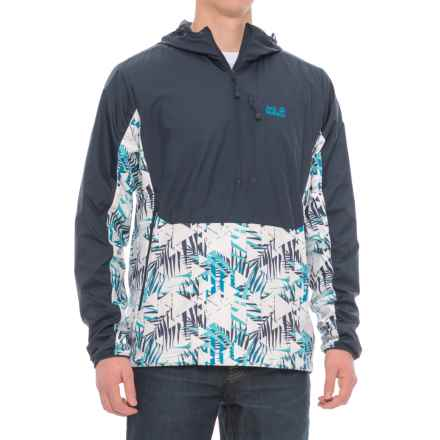 Jack Wolfskin Moana Tropic Windshell Jacket (For Men) in Night Blue - Closeouts