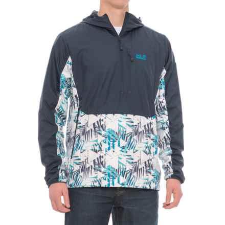 Jack Wolfskin Moana Tropic Windshell Jacket (For Men) in Night Blue - Closeouts