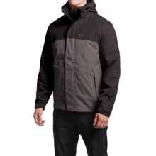 Jack Wolfskin Montero Texapore Jacket - Waterproof, 3-in-1 (For Men) in Dark Steel - Closeouts