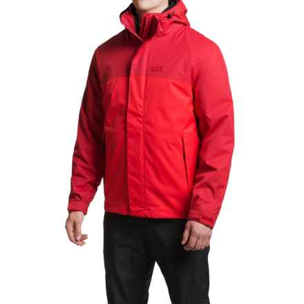 Jack Wolfskin Montero Texapore Jacket - Waterproof, 3-in-1 (For Men) in Red Fire - Closeouts