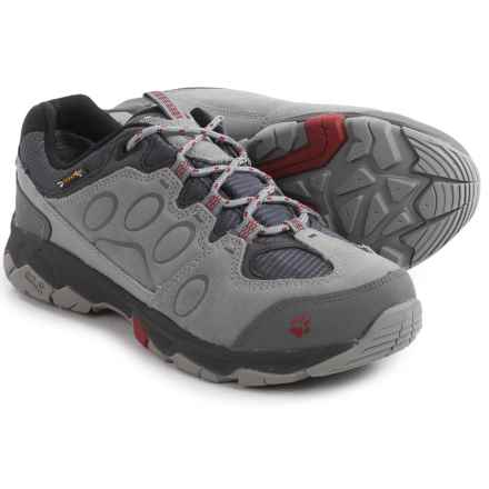 Jack Wolfskin Mountain Attack 5 Texapore Low Hiking Shoes - Waterproof (For Women) in Indian Red - Closeouts