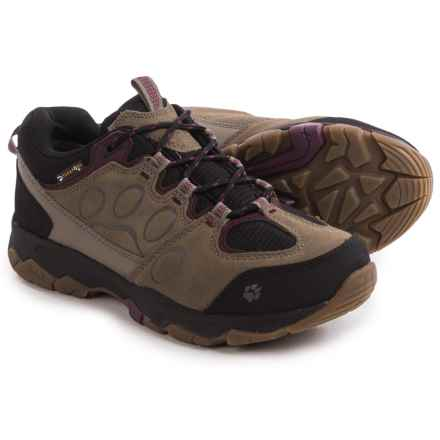 Jack Wolfskin Mountain Attack 5 Texapore Low Hiking Shoes - Waterproof (For Women) in Wild Berry - Closeouts