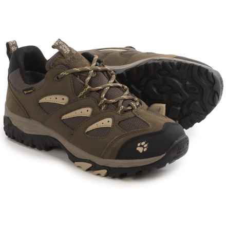 Jack Wolfskin Mountain Storm Texapore Low Hiking Shoes - Waterproof (For Women) in Sahara - Closeouts