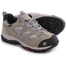 Jack Wolfskin Mountain Storm Texapore Low Hiking Shoes - Waterproof (For Women) in Wild Berry - Closeouts