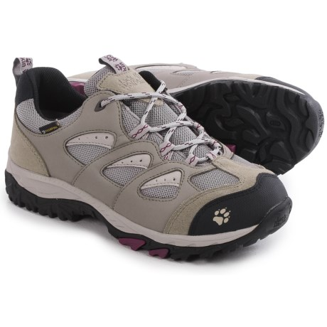 Jack Wolfskin Mountain Storm Texapore Low Hiking Shoes Waterproof For Women