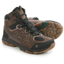 Jack Wolfskin MTN Attack 5 Texapore Mid Hiking Boots - Waterproof (For Men) in Dark Pine - Closeouts