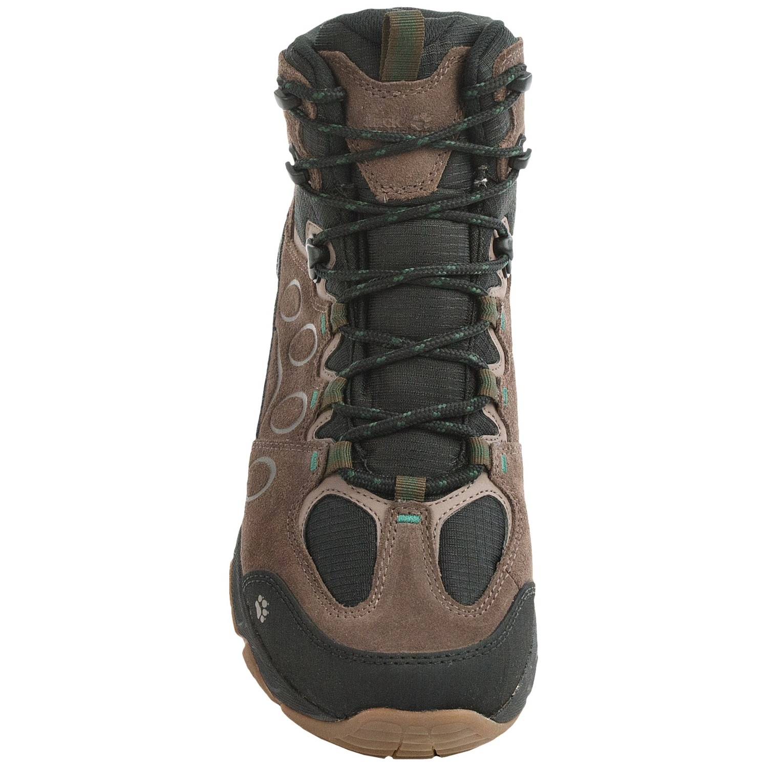 jack wolfskin mtn attack 5 texapore mid hiking boots for men save 50. Black Bedroom Furniture Sets. Home Design Ideas
