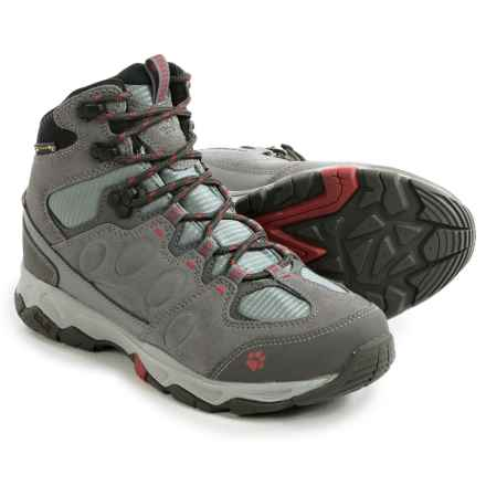 Jack Wolfskin MTN Attack 5 Texapore Mid Hiking Boots - Waterproof (For Women) in Indian Red - Closeouts