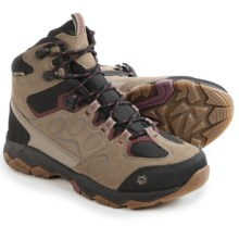 Jack Wolfskin MTN Attack 5 Texapore Mid Hiking Boots - Waterproof (For Women) in Wild Berry - Closeouts