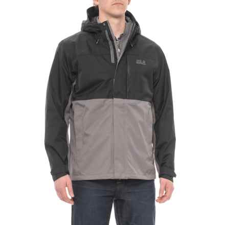 Jack Wolfskin Nimrod Jacket - Waterproof (For Men) in Tarmac Grey - Closeouts