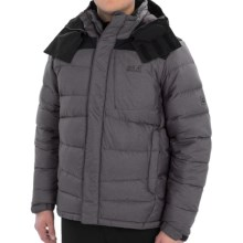 Jack Wolfskin North and Beyond Down Jacket - Windproof, 700 Fill Power (For Men) in Dark Steel - Closeouts
