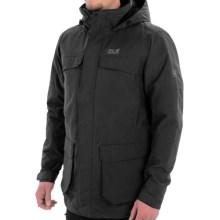 Jack Wolfskin North Bay Texapore Parka - Waterproof, Insulated (For Men) in Black - Closeouts