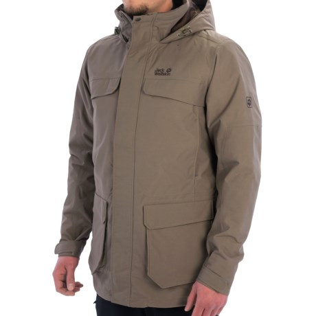 Jack Wolfskin North Bay Texapore Parka Waterproof, Insulated (For Men)