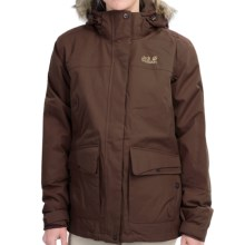 Jack Wolfskin Nova Scotia Texapore Jacket - Waterproof, Insulated (For Women) in Mocca - Closeouts