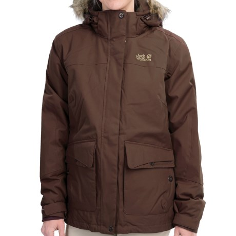 Jack Wolfskin Nova Scotia Texapore Jacket Waterproof Insulated For Women