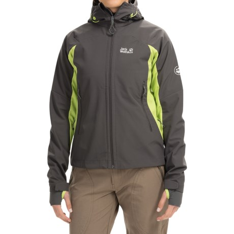 Jack Wolfskin Nucleon Soft Shell Jacket (For Women)