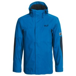 Jack Wolfskin Onyx Jacket - Waterproof (For Men) in Electric Blue