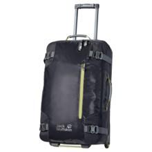 Jack Wolfskin Railman 80 Upright Suitcase - Rolling in Dark Steel - Closeouts