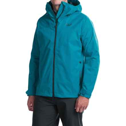 Jack Wolfskin Ridge Texapore Air Jacket - Waterproof (For Men) in Dark Turquoise - Closeouts
