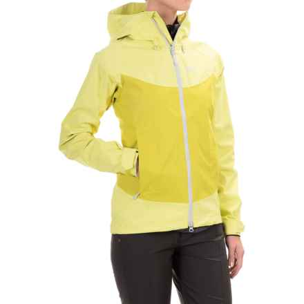 Jack Wolfskin Ridge Texapore Air Jacket - Waterproof (For Women) in Wild Lime - Closeouts