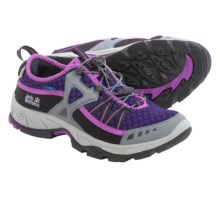 Jack Wolfskin Riverside Water Shoes (For Women) in Prune - Closeouts