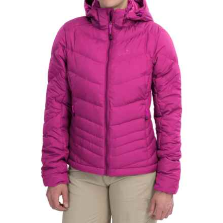 Jack Wolfskin Selenium Down Jacket - 700 Fill Power (For Women) in Dark Magenta - Closeouts