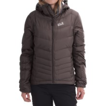 Jack Wolfskin Selenium Down Jacket - 700 Fill Power (For Women) in Dark Steel - Closeouts