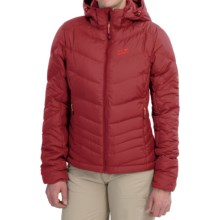 Jack Wolfskin Selenium Down Jacket - 700 Fill Power (For Women) in Dried Tomato - Closeouts
