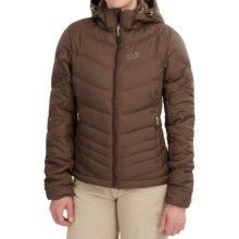 Jack Wolfskin Selenium Down Jacket - 700 Fill Power (For Women) in Mocca - Closeouts