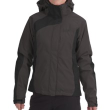 Jack Wolfskin Serpentine Texapore Jacket - Waterproof, 3-in-1 (For Women) in Dark Steel - Closeouts