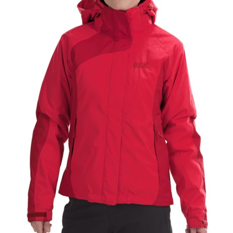 Jack Wolfskin Serpentine Texapore Jacket (For Women ...