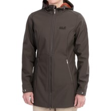 Jack Wolfskin Sherbrooke FlexShield Soft Shell Parka (For Women) in Dark Steel - Closeouts