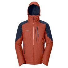Jack Wolfskin Snow Mountain Texapore Jacket - Waterproof, Insulated (For Men) in Earth Orange - Closeouts