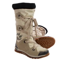 Jack Wolfskin Snowmania Snow Boots - Insulated (For Women) in White Sand - Closeouts