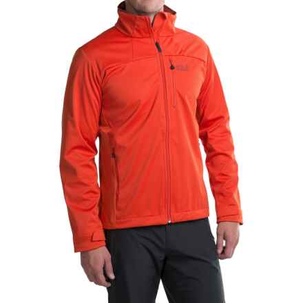 Jack Wolfskin Sonic Vent STORMLOCK ®Jacket (For Men) in Chili - Closeouts