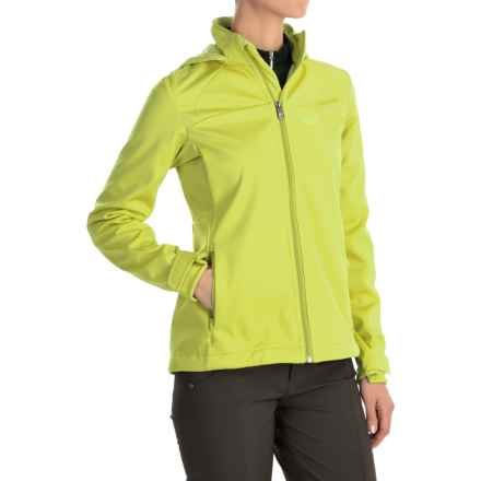 Jack Wolfskin Sonic Vent STORMLOCK® Jacket (For Women) in Bright Absinth - Closeouts