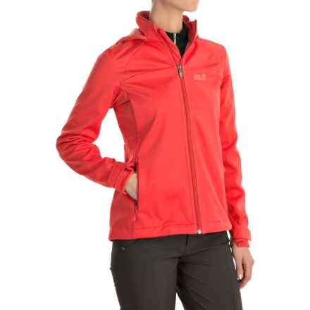 Jack Wolfskin Sonic Vent STORMLOCK® Jacket (For Women) in Hibiscus Red - Closeouts