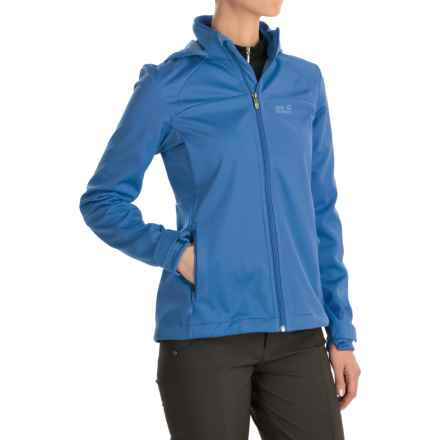 Jack Wolfskin Sonic Vent STORMLOCK® Jacket (For Women) in Peacock Blue - Closeouts