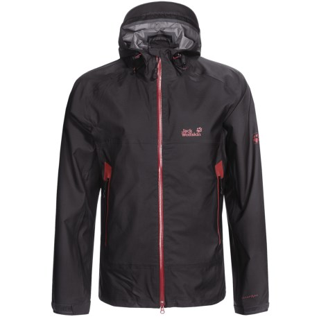 Jack Wolfskin Stellar Lightning Jacket - Waterproof (For Men) in Phantom