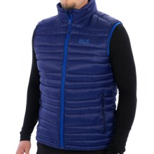 Jack Wolfskin Stratus Vest - 500 Fill Power (For Men) in Night Sky - Closeouts