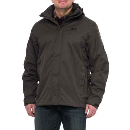 Jack Wolfskin Strokkur Jacket - Waterproof (For Men) in Black - Closeouts